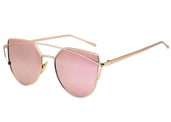"Sonnenbrille Rosa ""Cat's Eye"""