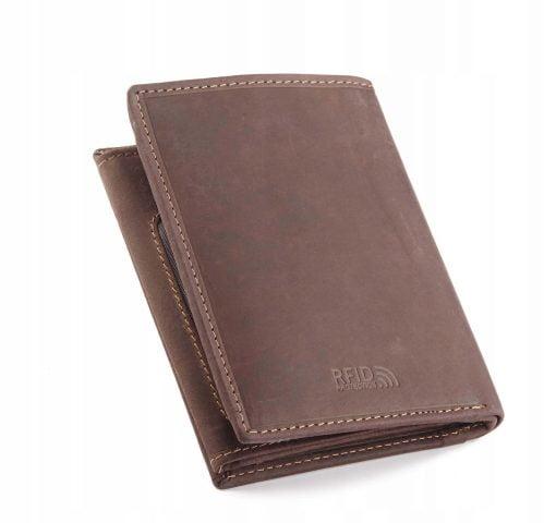 Brieftasche echtes Leder mit Datenschutz