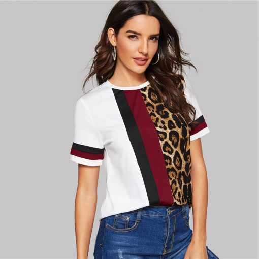 Leopard T-Shirt für Frauen 2019