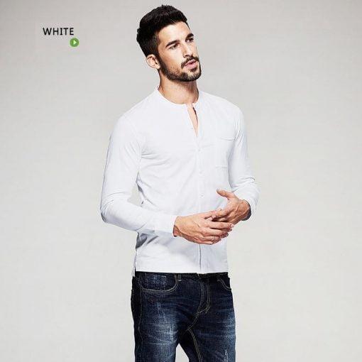 2019Elegantes-schwarzes-hemd