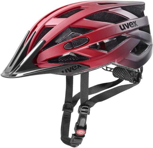 Fahrradhelm für Erwachsene-Unisex–Erwachsenei-vo-ccFahrradhelm-rotschwarz